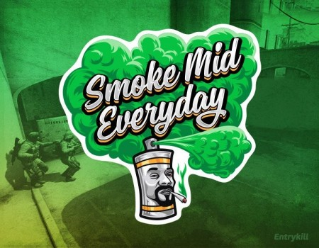 SMOKE MID EVERYDAY (CS:GO DOPE SERIES 1)
